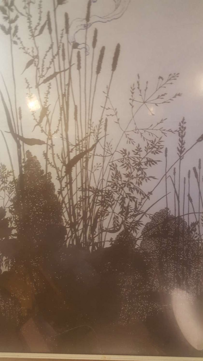 Fairies at Dawn - Screen Printed, Framed Picture 3