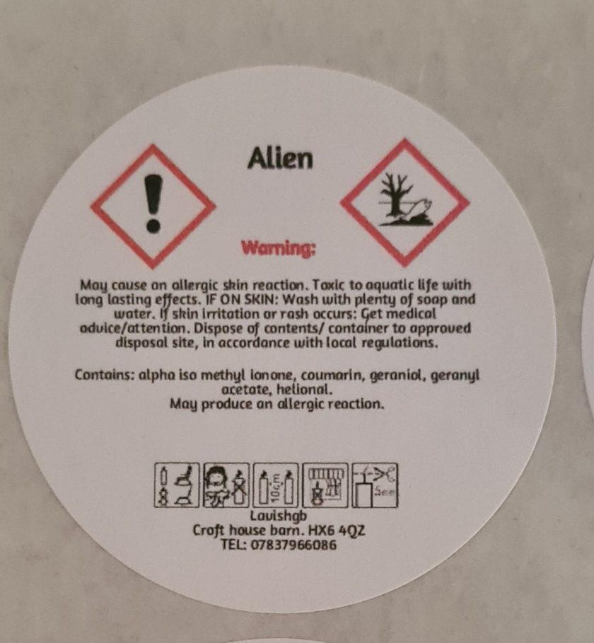 Alienate wax melt 2