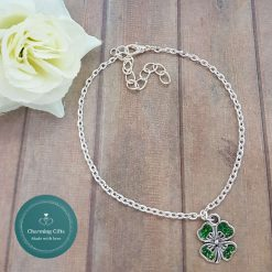 - Clover Shamrock Lucky Pendant Necklace, Earrings, Bracelet, Jewellery (Priced Individually) 7