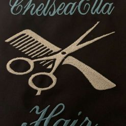Personalised Embroidered Hairdresser Apron 6