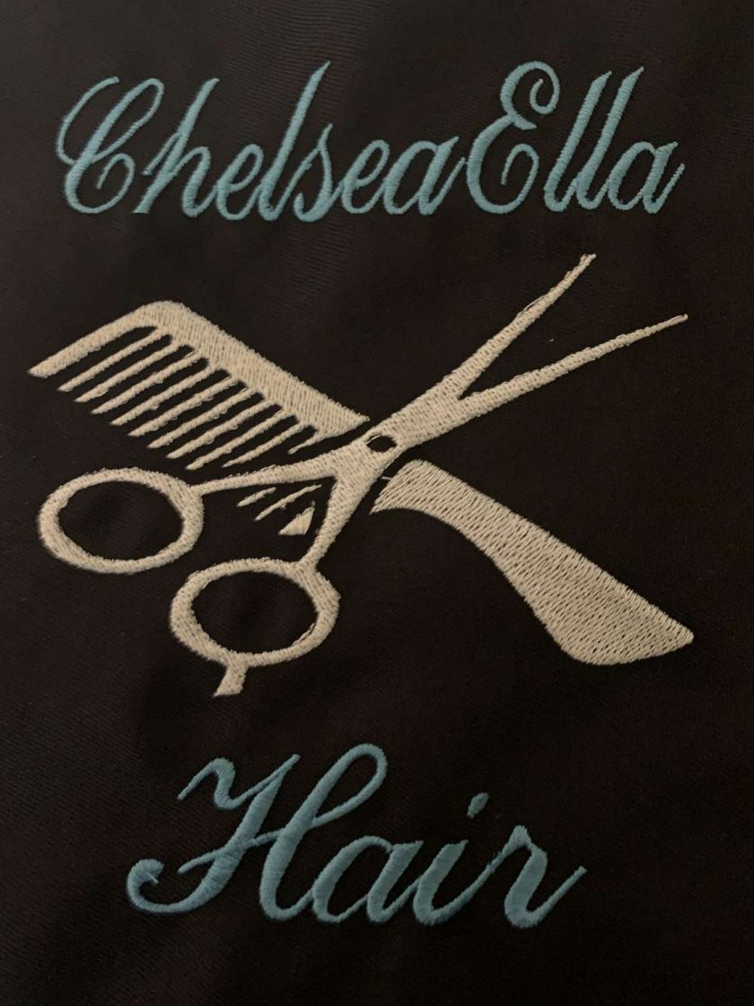 Personalised Embroidered Hairdresser Apron 2