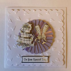 Hand made On your special Day Card  - free p.p
