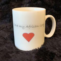 African grey parrot mug 5