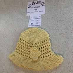 Besties child's cotton sun hat