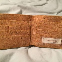Sale : 1 only cork  leather wallets 16
