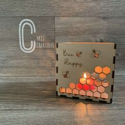 Bee candle box 1