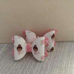 Ballerina Hair Bow Set