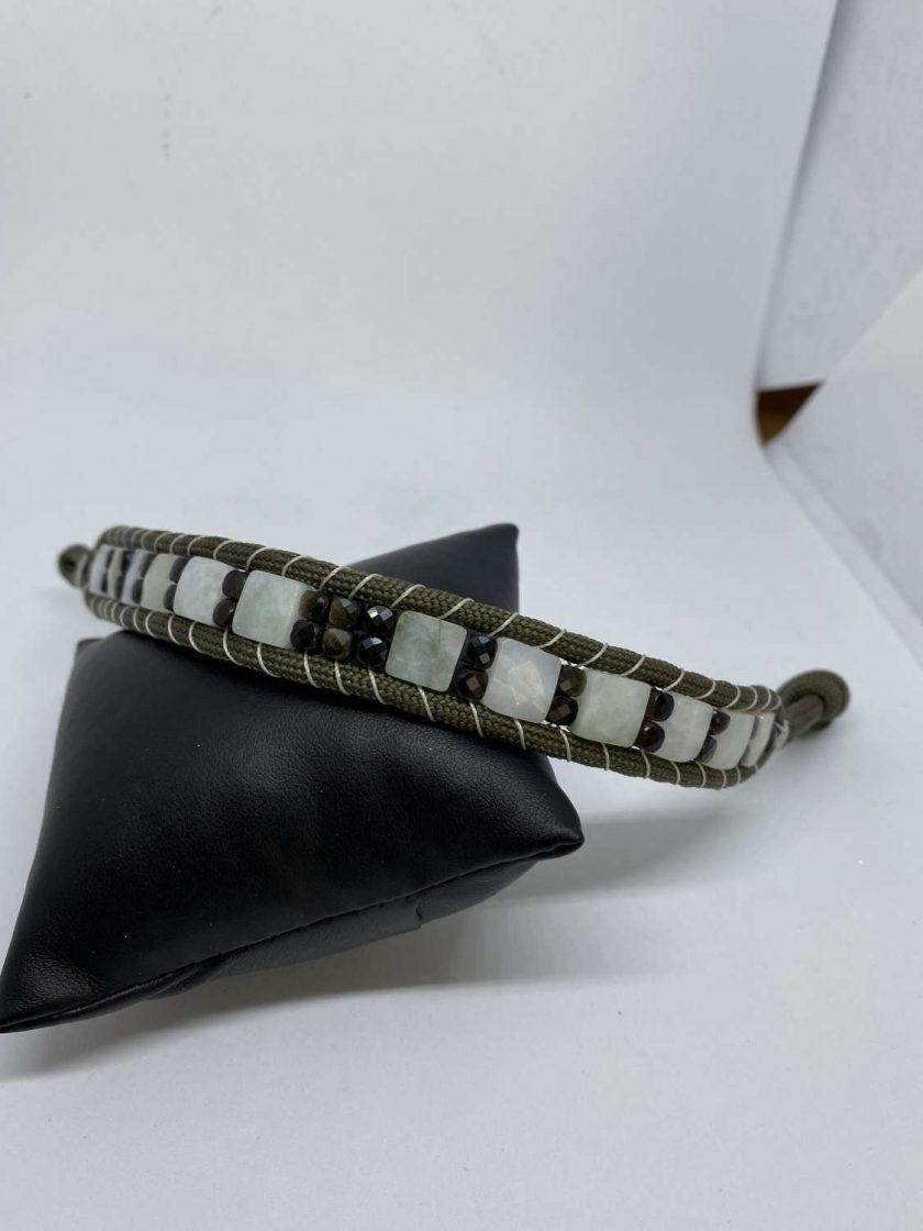 Paracord Jadeite Bracelet 1