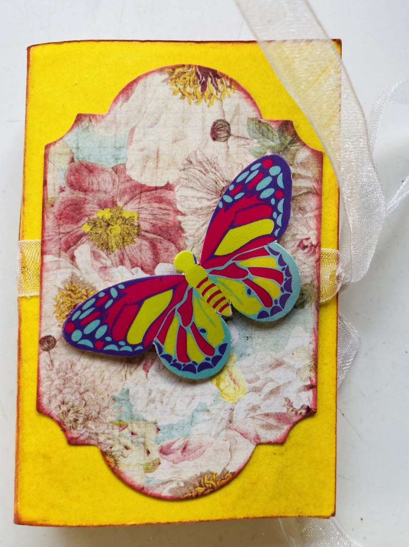 Butterfly Lip Balm (Chapstick) Holder Card