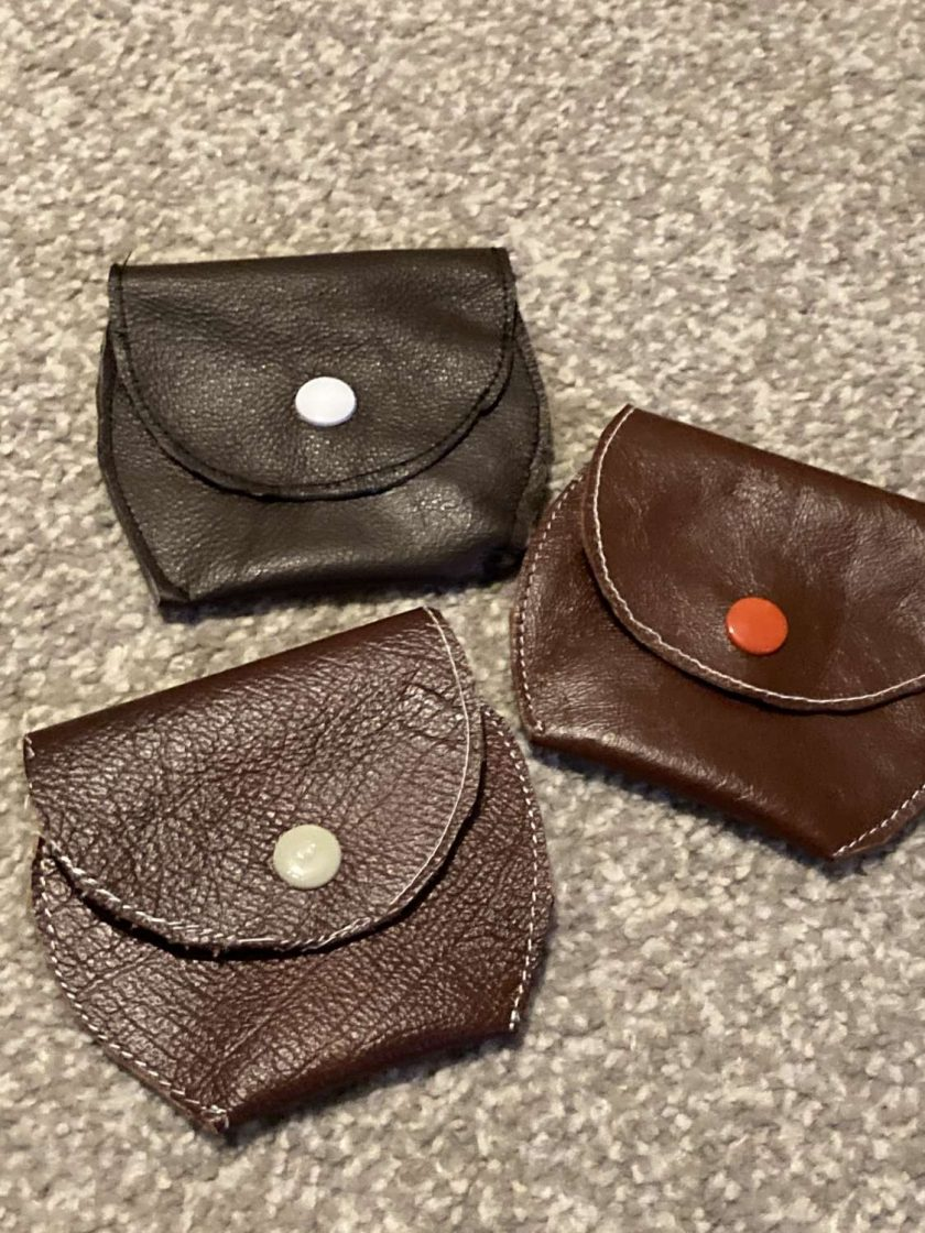 Sale :  small real leather coin purse 2