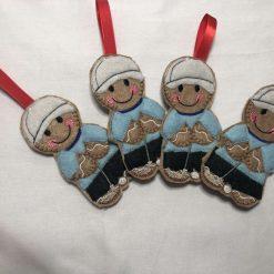 Gingerbread Man (Custom) - Christmas Ornaments