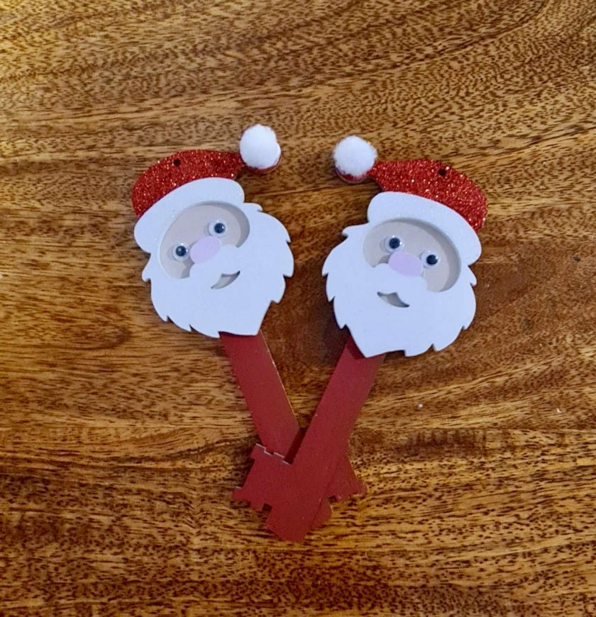 Father Christmas / Santa Keys. Christmas decorations/ornament 2