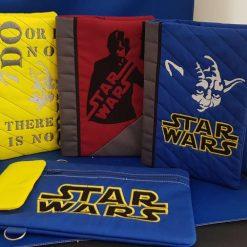 A5 Book Covers  - notebooks/diaries etc - Monogrammed Mandala
