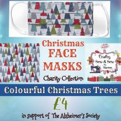 'PPE' Style FACE MASKS 🎄 Christmas CHARITY Collection 🎄 in support of The Alzheimer's Society 🎄 Washable & Reusable (Eco-Friendly) 🎄 Choice of Designs & Sizes 34