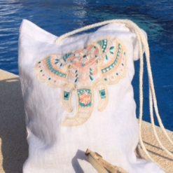 Crossbody Bag linen