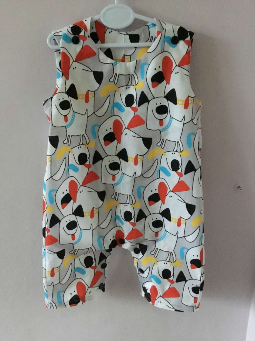 Cotton dungarees 1