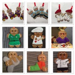 Gingerbread Man (Custom) - Christmas Ornaments