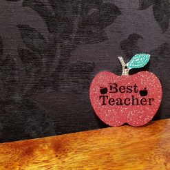 Best Teacher Apple, Christmas gift,School decoration/ornament