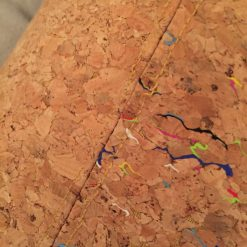Sale: 1 only Rainbow panel cork tote handbag 11