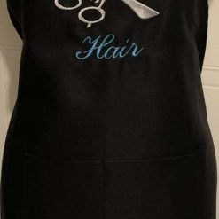Personalised Embroidered Hairdresser Apron 7