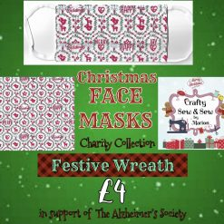 'PPE' Style FACE MASKS 🎄 Christmas CHARITY Collection 🎄 in support of The Alzheimer's Society 🎄 Washable & Reusable (Eco-Friendly) 🎄 Choice of Designs & Sizes 33