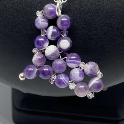 Amethyst Heart Pendant & 925 Sterling Silver Necklace 4