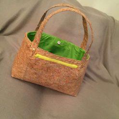 Sale: 1 only Rainbow panel cork tote handbag 8
