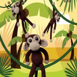 King Cole - Crochet Pattern - Amigurumi Chimps