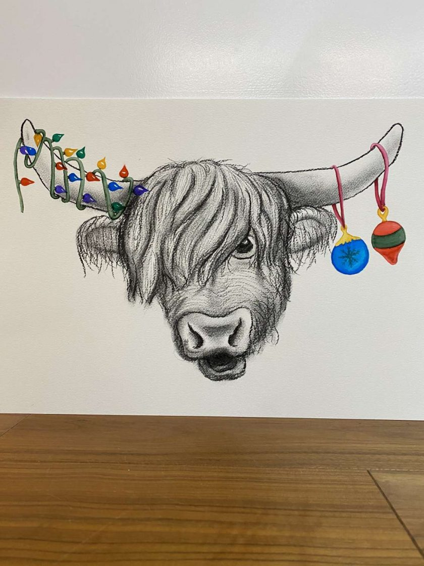 Party Coo Christmas Artwork 1