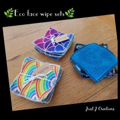 Eco friendly face wipes