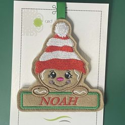 Embroidered Christmas Tree Hangers or Tags 10