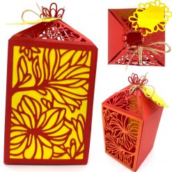 Gift Box - Leafy Flowers