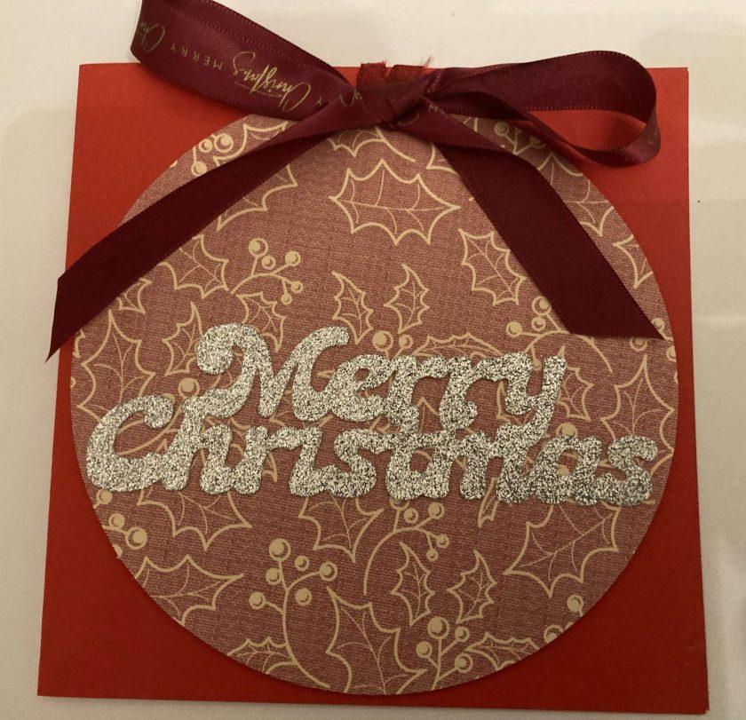Hand made Christmas Cards set of 3 / free p.p 5