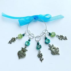 Stitch Markers, knitting diva stitch markers, gift for knitter.
