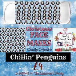 'PPE' Style FACE MASKS 🎄 Christmas CHARITY Collection 🎄 in support of The Alzheimer's Society 🎄 Washable & Reusable (Eco-Friendly) 🎄 Choice of Designs & Sizes 32