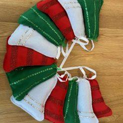 Christmas bells bunting 7