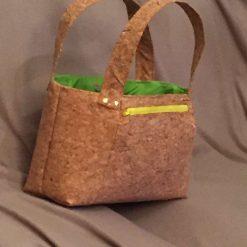 Sale: 1 only Rainbow panel cork tote handbag 7
