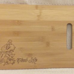 Chopping Board ~ Bread Board: Feed Me: Audrey 2 Little Shop of Horrors ~ Hand-Etched