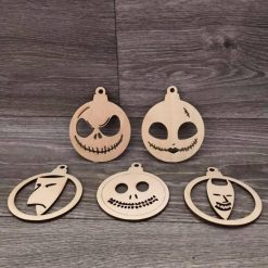 Nightmare before Christmas bauble set