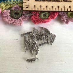 5 x ocean liner Tibetan silver charms 2cm