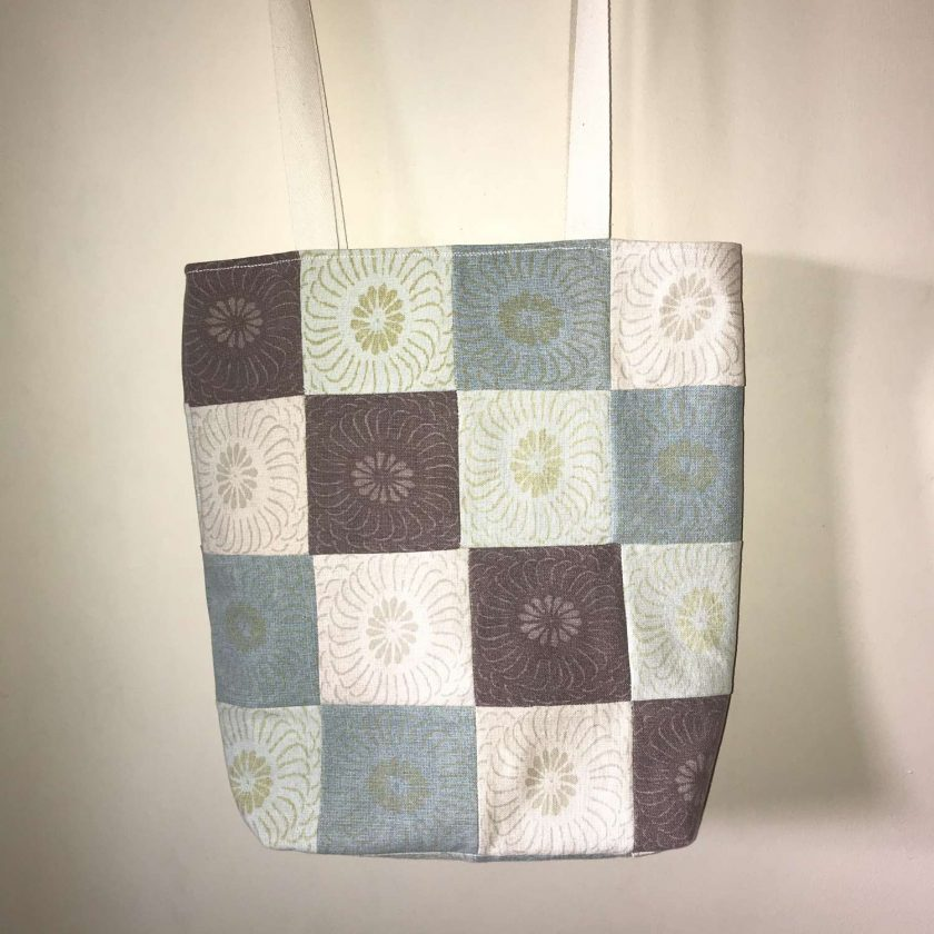 Upcycled Patchwork Tote 2