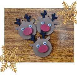 Reindeer Christmas Tree Decoration