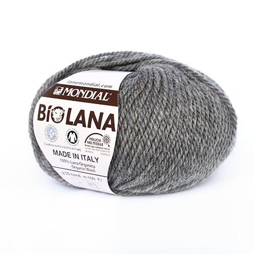 Mondial - Bio Lana - Olive Green (283) 3
