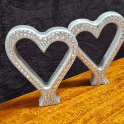 Beautiful standing Love Hearts, single or in pairs. 1