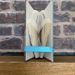 Folded Book Art - Butterfly