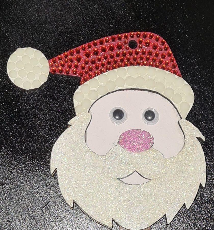 Big Father Christmas / Santa Keys. Christmas decorations/ornament