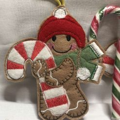 Gingerbread Man Swing - Christmas Ornaments