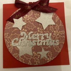 Hand made Christmas Cards set of 3 / free p.p 7