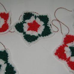 Christmas Star Bunting Crochet Kit