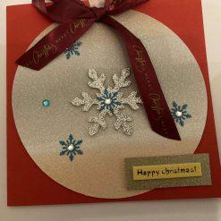 Hand made Christmas Cards set of 3 / free p.p 11